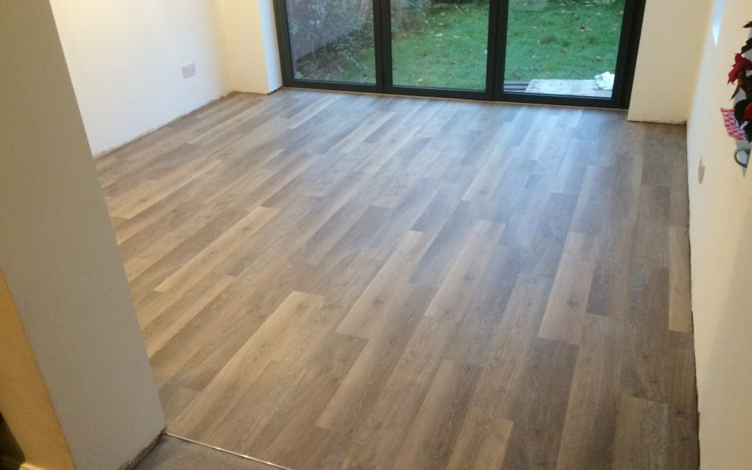 LVT kitchen flooring – Redland, Bristol.