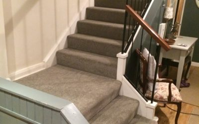 Landing and stairs carpet – Southmead, Bristol.
