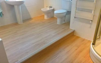 LVT flooring bathroom – Easton, Bristol.