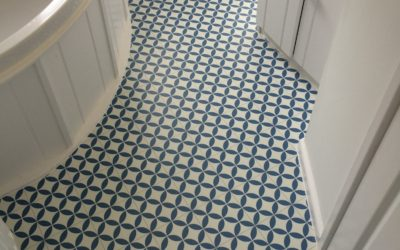 Vinyl bathroom flooring in Staple Hill, Bristol
